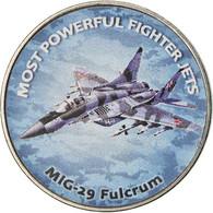 Monnaie, Zimbabwe, Shilling, 2019, Fighter Jet - Fulcrum, SPL, Nickel Plated - Zimbabwe