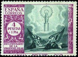 España 0901 * El Pilar. 1940. Charnela - 1931-50 Nuovi