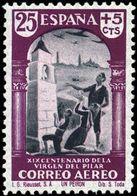 España 0904 (*) El Pilar. 1940. Sin Goma - 1931-Today: 2nd Rep - ... Juan Carlos I