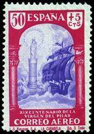 España 0905 (*) El Pilar. 1940. Sin Goma - 1931-Today: 2nd Rep - ... Juan Carlos I