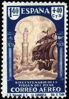 España 0910 ** El Pilar. 1940. - 1931-Hoy: 2ª República - ... Juan Carlos I