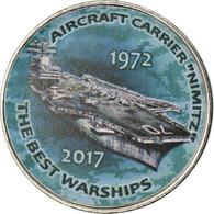Monnaie, Zimbabwe, Shilling, 2017, Warship -  Aircraft Carrier Nimitz, SPL - Zimbabwe
