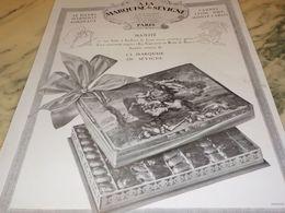 ANCIENNE PUBLICITE LA MARQUISE DE SEVIGNE MAJESTE 1928 - Affiches