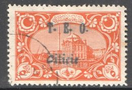 CILICIE 1919   Mosquée D'Ortakoy   - Surcharge T.E.O. Cilicie   Yv 60 - Oblitérés