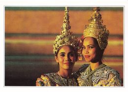 Thaïlande Bangkok Danseuses (2 Scans) - Thailand