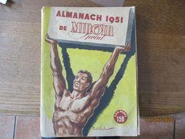 ALMANACH 1951 DE MIROIR SPRINT 224 PAGES - Non Classés