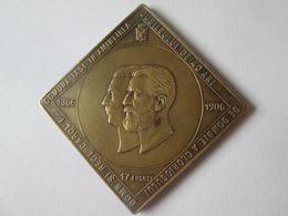 Rare! Romanian Medal Iași Commune:The 40th Anniversary Of The Reign Of King Carol I - Romania