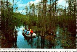 Georgia Waycross Boating In The Okefenokee Swamp Park 1977 - Etats-Unis