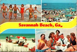 Georgia Savannah Beach Multi View Sun Bathers - Savannah