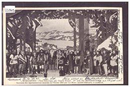 LAUSANNE - THEATRE - MORGARTEN - PIECE DE VIRGIL ROSSEL - REPRESENTATIONS DONNEES EN FEVRIER 1905 PAR LA MUSE - TB - VD Vaud
