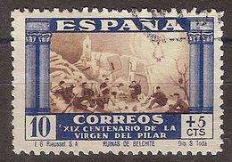 España U 0889 (o) Virgen Del Pilar. 1940 - 1931-50 Usati