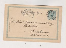 AUSTRIA   1903 AFLENZ Postal Stationery - Lettres & Documents