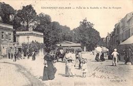 France 17 Rochefort Sur Mer  Porte De La Rochelle Et Rue Du Rempart Enfants Picon Anno 1906      M 3656 - Rochefort