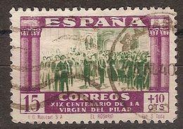 España U 0890 (o) Virgen Del Pilar. 1940 - 1931-50 Usati