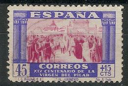 España U 0894 (o) Virgen Del Pilar. 1940 - 1931-50 Usati