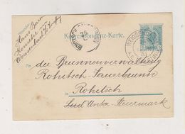 AUSTRIA   1905 Weissenbach An Der Triesting  Postal Stationery - Briefe U. Dokumente
