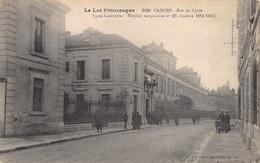 France 46 Lot Le Lot Pittoresque Cahors Rue Du Lycée Gambetta Hopital Temporaire Guerre Nr 23 , 1914 -1915   M 3692 - Cahors