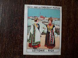 L20/222 Chromo Image Chocolat Pupier. Lettonie. Riga - Chocolate