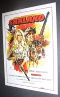 Carte Postale : Brigitte Bardot - Sean Connery (film Cinéma Affiche) Shalako - Posters On Cards