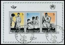BELGIEN Block 37 Zentrisch Gestempelt S0197FA - Bloques 1962-....