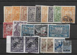 Russia USSR Old Lot - 1917-1923 Republic & Soviet Republic