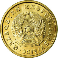 Monnaie, Kazakhstan, Tenge, 2019, Kazakhstan Mint, SUP+, Brass Plated Steel - Kasachstan