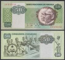 Angola 50 Kwanza 1984  Banknote Pick 118 UNC (1)   (25103 - Bankbiljetten