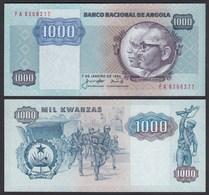 Angola 1000 Kwanza 1984  Banknote Pick 121a UNC (1)   (25101 - Bankbiljetten