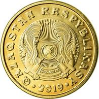 Monnaie, Kazakhstan, 5 Tenge, 2019, Kazakhstan Mint, SPL, Brass Plated Steel - Kazajstán