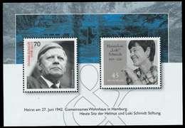 BRD BLOCK KLEINBOGEN 2002 2019 Block 83 Postfrisch S9882AE - [7] República Federal