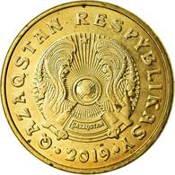 Monnaie, Kazakhstan, 5 Tenge, 2019, Kazakhstan Mint, SUP+, Brass Plated Steel - Kasachstan