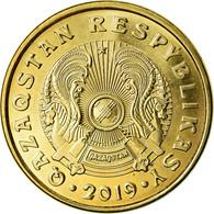 Monnaie, Kazakhstan, 10 Tenge, 2019, Kazakhstan Mint, SPL, Brass Plated Steel - Kazajstán