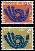 BELGIEN 1973 Nr 1722-1723 Postfrisch S7D9D72 - Bélgica