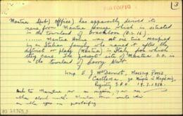 Ireland Roscommon 1922 MANTUA CASTLEREA 15 APR.22 Rubber Climax Cds On Thom Rialtas 2d Die 1, Small Piece - Irlande