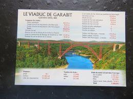 LE VIADUC DE GARABIT Construit Par EIFFEL En 1884 - Autres Communes
