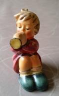 Goebel Hummel 391 TMK#3  Die Kleine Trompeterin / Girl With Trumpet - Figurines