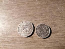 Lot De 2 Monnaies Nouvelle Calédonie - New Caledonia
