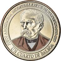 Monnaie, Panama, Justo Arosemena, 1/4 Balboa, 2017, SPL, Copper-Nickel Clad - Panamá