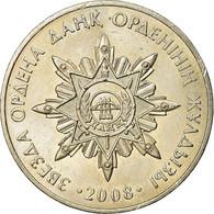 Monnaie, Kazakhstan, Etoile De L'ordre De Dank, 50 Tenge, 2008, Kazakhstan Mint - Kazajstán