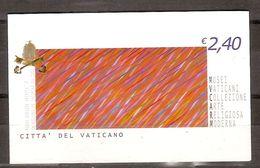 """(Fb).Vaticano.2004.Libretto """"Arte Contemporanea"""",integro (169-18) - Markenheftchen"""