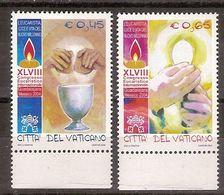 """(Fb).Vaticano.2004.""""Congresso Eucaristico"""",serie Completa Integra (168-18) - Ungebraucht"""