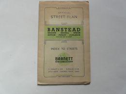 OFFICIAL STREET PLAN : BARNETT'S STREET MAPS - Cartes