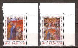 "(Fb).Vaticano.2004.""San Pio"",serie Completa Integra (173-18) - Ungebraucht"