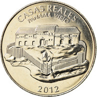 Monnaie, Panama, Casas Reales, 1/2 Balboa, 2012, SPL, Copper-Nickel Clad Copper - Panama