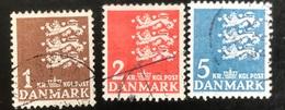 Danmark - D1/9 - 1946 - (°)used - Kleine Rijkswapen - No Fluo - Escudos De Armas