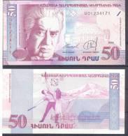 Armenia. 50Dr/1998, P-41, UNC - Armenien