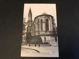 41 - TARBES L'Abside De L'Eglise Sainte Therese. Place Marcadieu - Tarbes