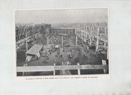 Centrale Confection Du Béton Pompe De Refoulement Imprimerie De L'Illustration Bobigny  1931 - Publicités