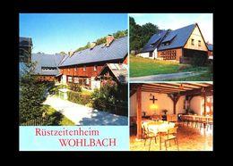 Bund / Germany: Ansichtskarte [AK]/ Postcard 'Rüstzeitenheim Guter Hirte, Wohlbach [Mühlental] [08626 – O-9931]' - Vogtland