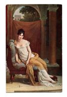 CPA - Mme RÉCAMIER (F. GÉRARD) - Malerei & Gemälde
